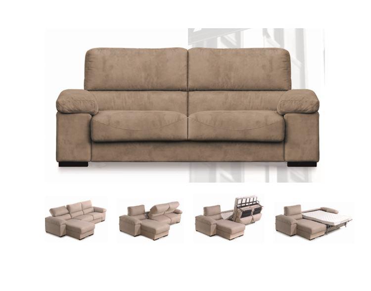 Sofas comodos for Cheslong individual barato